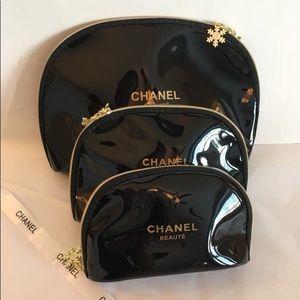 New Chanel VIP Gift Makeup Cosmetics Bag set